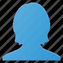 account, avatar, female, peson, profile, user, woman icon