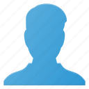 avatar, interface, male, man, person, profile, user icon