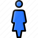female, person, stand, user, woman