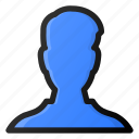 male, user, account, profile, avatar