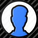 male, user, circle, account, profile, avatar