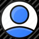 user, circle, account, profile, avatar