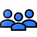 user, group, account, profile, avatar, audience