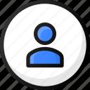 user, smal, circle, account, profile, avatar