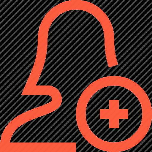 add, contact, create, female, new, user icon