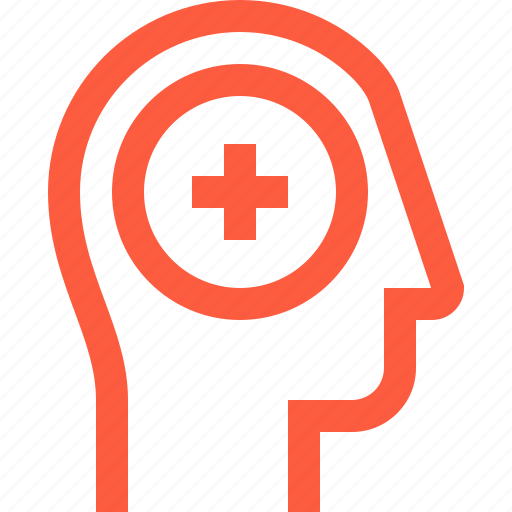 add, head, healthcare, medical, mental, psychology, therapy, user icon