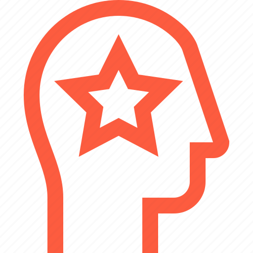 favorite, head, priority, rating, star, top, user icon