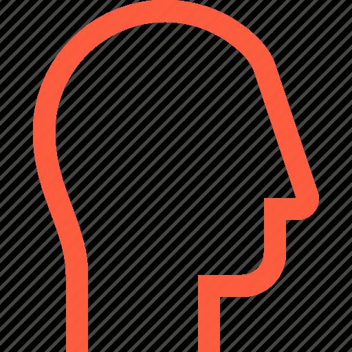 avatar, blank, head, profile, shape, user icon