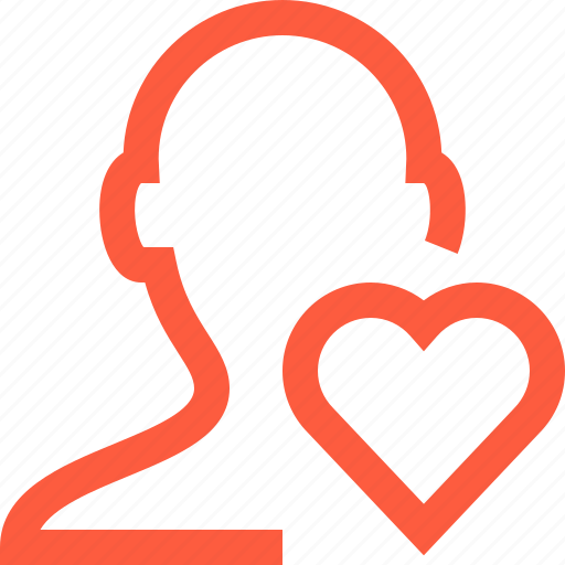 Health, heart, life, like, male, profile, user icon - Download on Iconfinder