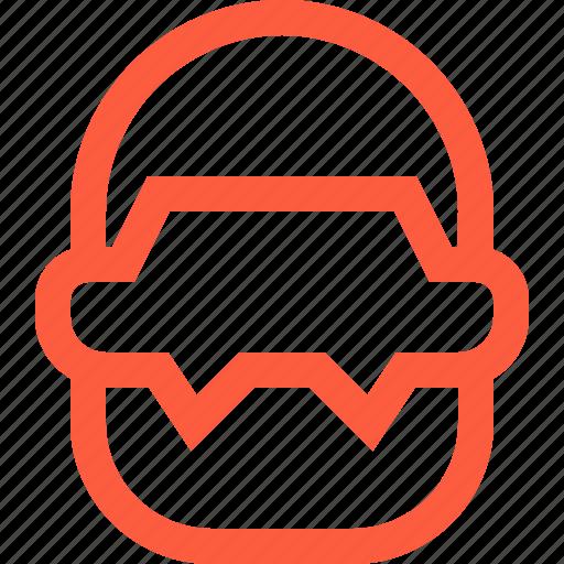 beard, male, man, old, person, profile, user icon