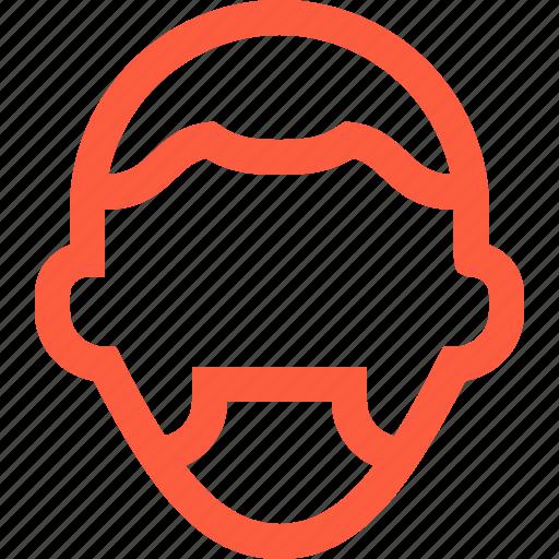 beard, guy, male, man, profile, style, user icon