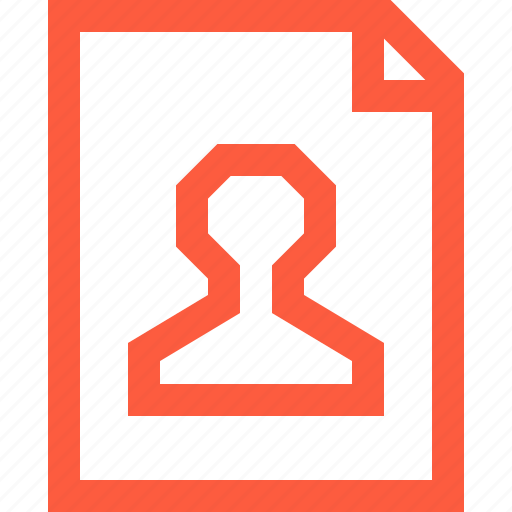 cv, document, dossier, file, information, profile, user icon