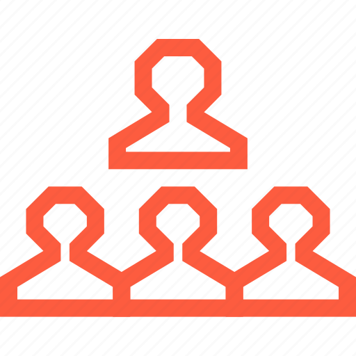 business, group, hierarchy, team, user, work, workgroup icon