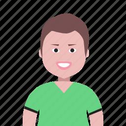 boy, happy, male, man, people, person, profile, user icon