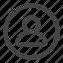 account, login, person, profile, signin, user, users icon