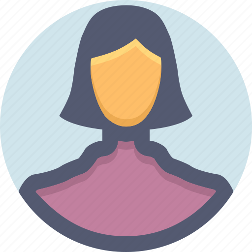 Avatar, female, girl, person, user, woman icon - Download on Iconfinder