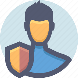 guard, protection, safe, security, shield, user icon