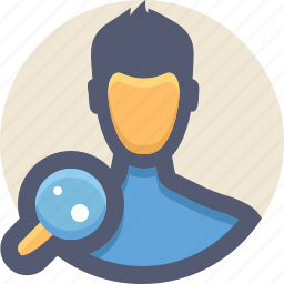 client, find, people, search, user icon