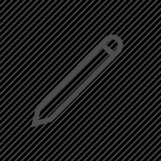 compose, draw, edit, pen, pencil, scribe, write icon
