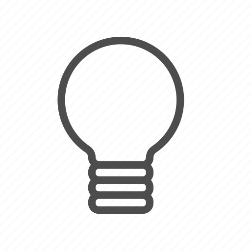 Lightbulb, light, energy, idea, entrepreneur, bulb, brainstorm icon