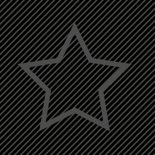 Bookmark, favorite, favorites, rank, ranking, rating, star icon - Download on Iconfinder