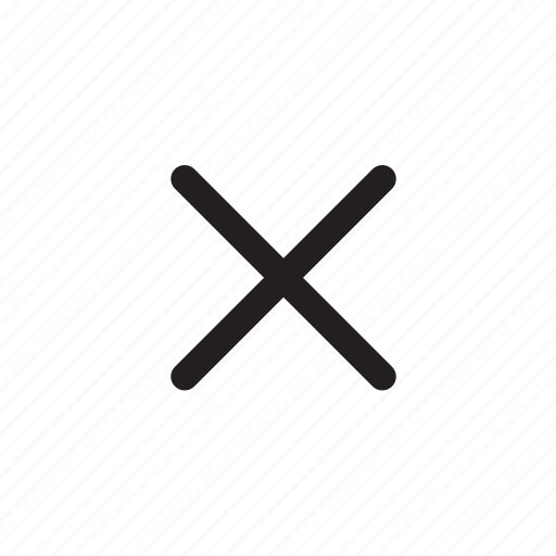 audio, battery, bin, cancel, close, empty, exit, full, garbage, movie, play, stop, trash, utility, x icon