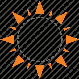 bright, day, light, protection, sun, sunblock, uv icon