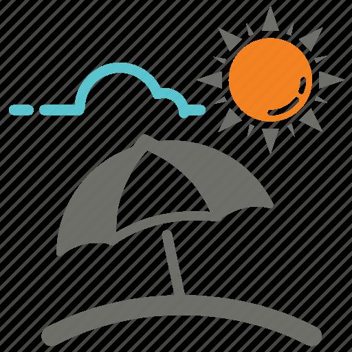 bright, day, protection, sun, sunblock, umbrella, uv icon