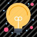 bulb, idea, light, solution