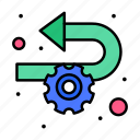 agile, development, implementation, process icon