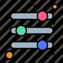 options, parameters, sliders, volume icon