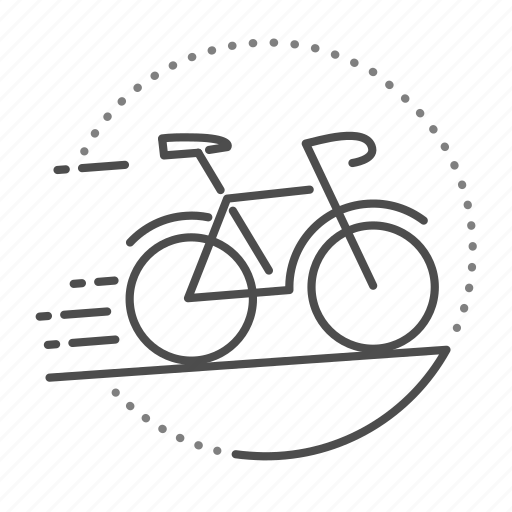 bicycle, bike, cycling, exercise, sport icon