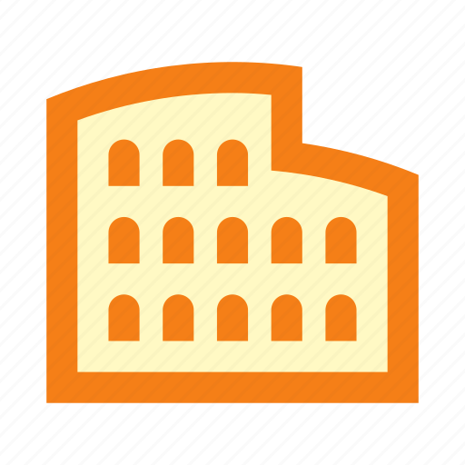 Coliseum, italian, italy, pizza, rome, sights icon - Download on Iconfinder