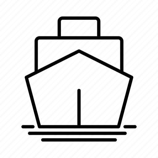 cargo. load, container, freight, ship container icon