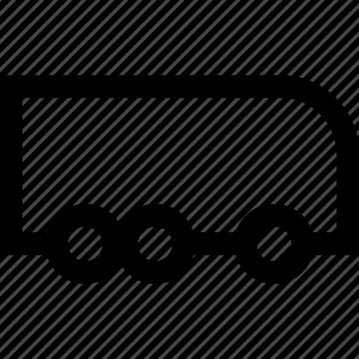 bus, road, travel, traveler, vacation, vehicle, wheels icon