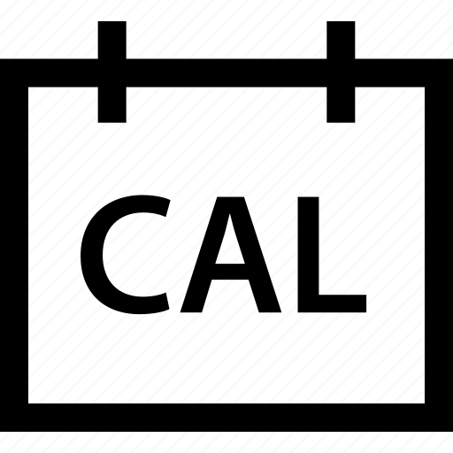 cal, calendar, depart, event, travel, traveler, vacation icon