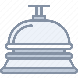 alert, bell, hotel, reception, travel, vacation icon