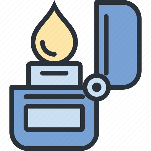 camp, camping, fire, lighter, outdoors, travel icon