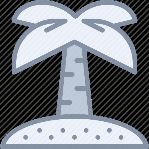 beach, exotic, island, palm, travel, tree, vacation icon