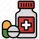medicine, drug, container, healthcare, and, medical, pill
