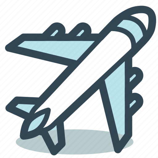 Aircraft, airplane, flying, plane icon - Download on Iconfinder