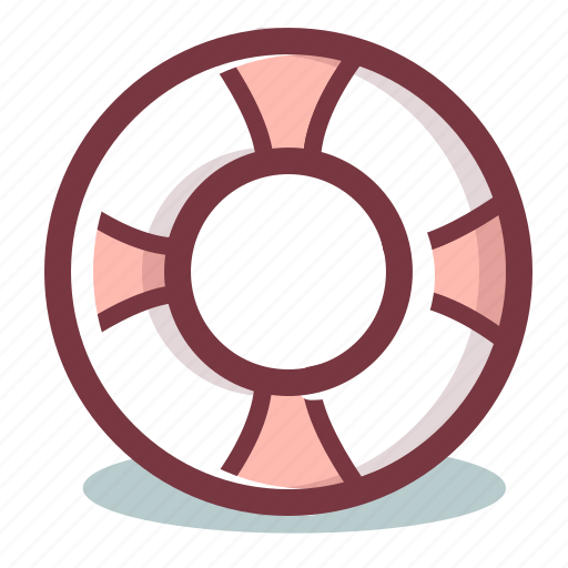 Lifebelt, lifebuoy, lifesaver, support icon - Download on Iconfinder