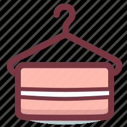 bath, hanger, towel icon