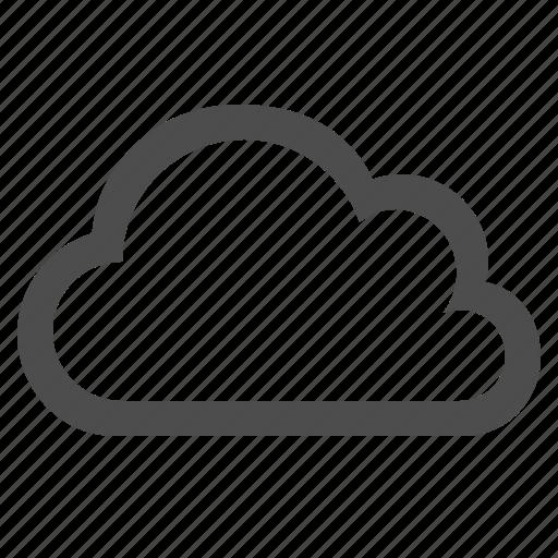 cloud, cloud computing, cloudy, storage, weather icon