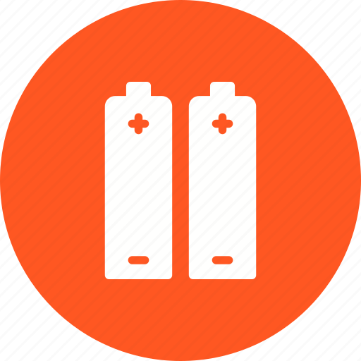 batteries, battery, cell, lithium, metal, travel, vehicle icon