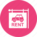 business, car, dealer, driver, rent, travel, vehicle icon