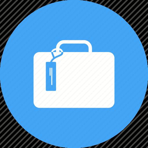 briefcase, suit case, summer, travel, trip, vacation, wardrobe icon