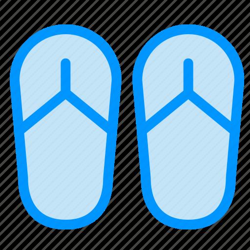 beach, foot, sandal icon