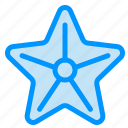 beach, sea, star, starfish icon
