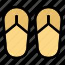 beach, foot, sandal